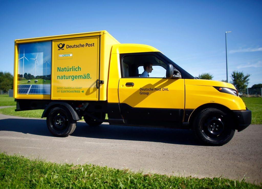Deutsche Post aandelen