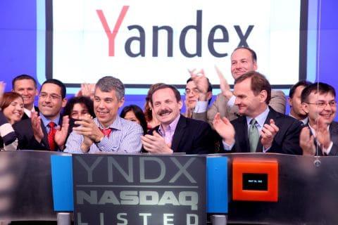 Yandex aandelen kopen